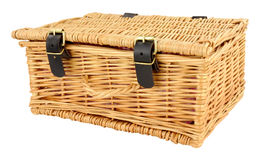 Woven Wicker Basket Stock Photos
