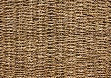 Woven wicker basket texture Royalty Free Stock Photos