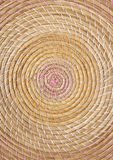 Woven wicker basket texture Stock Images