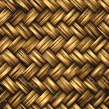 A woven wicker material royalty free illustration