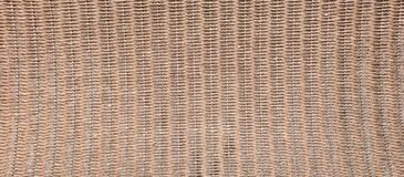 Woven wicker seamless background Stock Image
