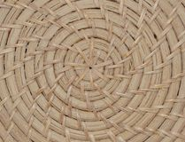 Woven wicker texture pattern Stock Images