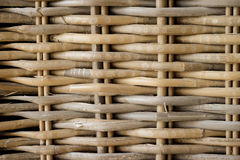 Woven wicker Stock Photo