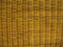 Woven wood 2. Horizontal  woven stripped wood texture Stock Photos