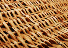 Woven wood Stock Photography