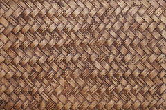 Woven wood background Royalty Free Stock Image