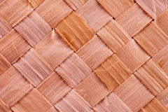 Woven wood background Royalty Free Stock Photos