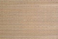 Woven wood mat as pattern Stock Image