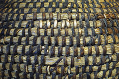 The Woven wood pattern. For some background Royalty Free Stock Photos