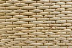 Woven Wooden Background Royalty Free Stock Images
