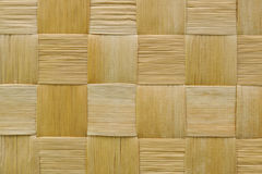 Woven wooden texture Royalty Free Stock Photo