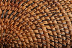 Woven wooden texture Royalty Free Stock Photos