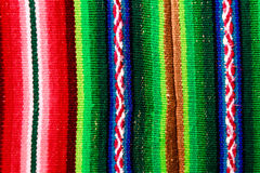 Woven wool fabric. From Bolivia Stock Photography