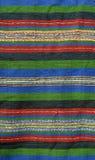 Woven wool rug. Handmade woven wool rug background Stock Photos