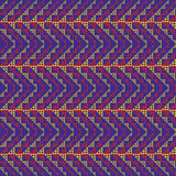 Woven Zig Zag Pattern. Seamless background inspired by various forms of ethnic art Stock Photo