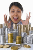 Wow, great profit from my investment Stock Images