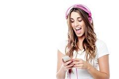 Wow! IS-IS la mia canzone favorita! fotografie stock libere da diritti