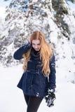 wow quella è molta neve Fotografia Stock Libera da Diritti