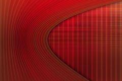 Wow red background Stock Photography