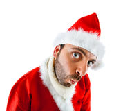 WOW Santa Claus Royalty Free Stock Photos