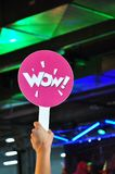Wow sign Stock Images