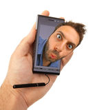 WOW smartphone Stock Photos