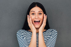 Wow! Royalty Free Stock Photography