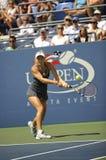 Wozniacki # 1 US öffnen 2010 (47) stockfotografie