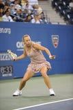 Wozniacki Caroline em E.U. abre 2009 (13) imagem de stock