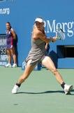 Wozniacki Caroline in US öffnen 2008 (11) Stockbild