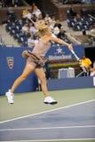 Wozniacki Caroline in US öffnen 2009 (3) Lizenzfreies Stockbild