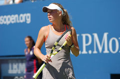 Wozniacki Caroline at US Open 2008 (49) Royalty Free Stock Photos