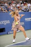 Wozniacki Caroline at US Open 2009 (22) Royalty Free Stock Images