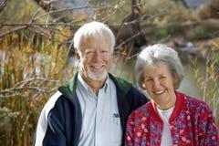 wpólnie par starsze osoby Zdjęcia Stock