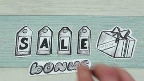 Wpisowa sprzedaż i premia zdjęcie wideo