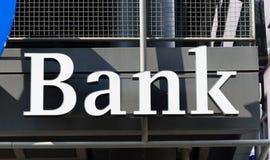 Wpisowy bank Zdjęcia Stock
