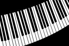 wpisuje pianino Zdjęcie Royalty Free