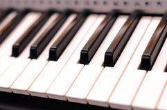 wpisuje pianino Obraz Royalty Free