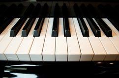 wpisuje pianino Obrazy Royalty Free