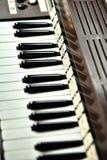 wpisuje pianino Obrazy Stock