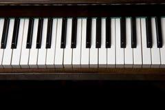 wpisuje pianino Zdjęcia Stock