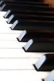 wpisuje pianino Zdjęcie Stock