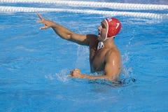 WPO:  Македония США v, 13th чемпионаты Рим 09 Aquatics мира Стоковое Изображение