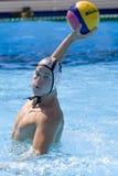 WPO: Чемпионат Aquatics мира - Германия против Черногории Стоковые Изображения RF