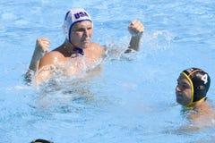 WPO: Чемпионат Aquatics мира - США против Германии Стоковые Фотографии RF