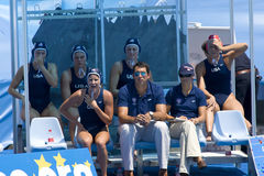 WPO :世界水上冠军中国对美国 库存照片