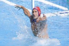 WPO :世界水上冠军-美国对克罗地亚 库存照片