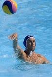 WPO :世界水上冠军-美国对克罗地亚 免版税库存图片