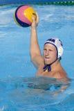 WPO :美国v马其顿,第13个世界水上冠军罗马09 免版税库存照片