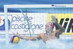 WPO: Campeonatos acuáticos del mundo - los E.E.U.U. contra Rumania Fotos de archivo